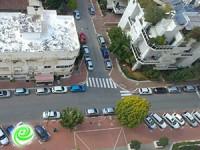 סכנת חציה ברחוב שפירא