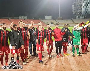 עוד ניצחון של האדומים