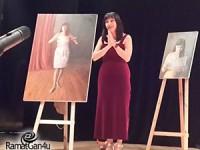 אמנית רמת גנית מעלה הצגה בקאמרי – מגי רום