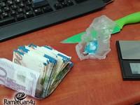 נתפס עם 10 מנות של קוקאין בסיור יזום של המשטרה