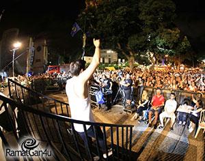 אלפים מתושבי רמת-גן ציינו את אירועי Black Bialik 2017
