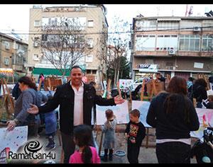 יצירתיות בשכונות רמת גן  מאת : מיכל רוזנטל נחמני